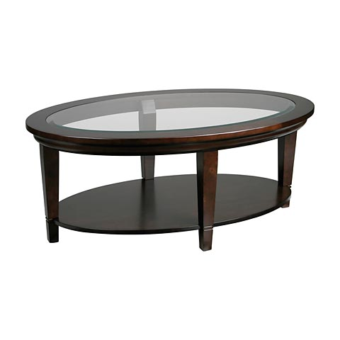 Bassett Oval Cocktail Table