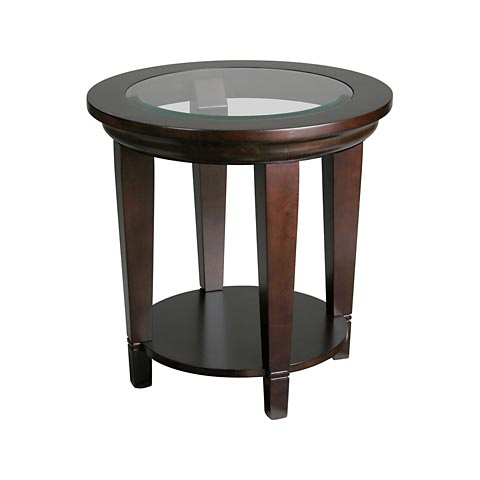 Bassett Round Lamp Table