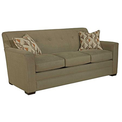 Broyhill 3477 7A Elaina Sofa Sleeper Queen Discount Furniture at Hickory Park Furniture Galleries