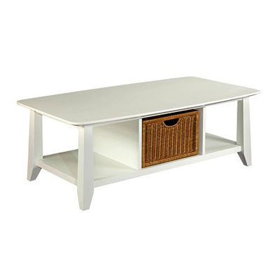 Broyhill Coffee Table White Finish