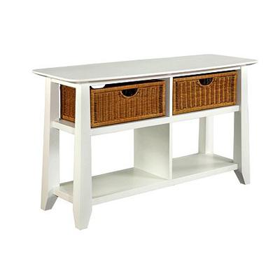 Broyhill Sofa Table White Finish