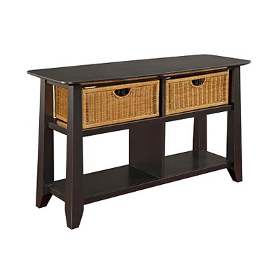 Broyhill Sofa Table Black
