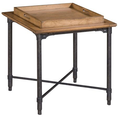 Broyhill Tray Top Lamp Table