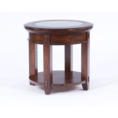 Broyhill Round End Table