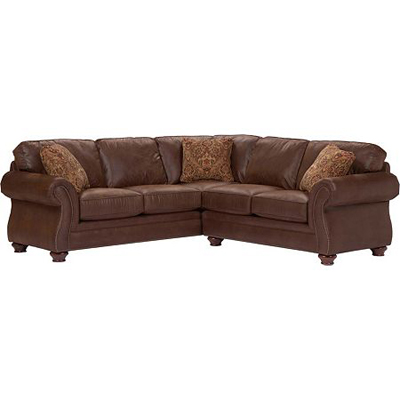 Broyhill 5080 0 Laramie Sectional Discount Furniture at Hickory Park Furniture Galleries