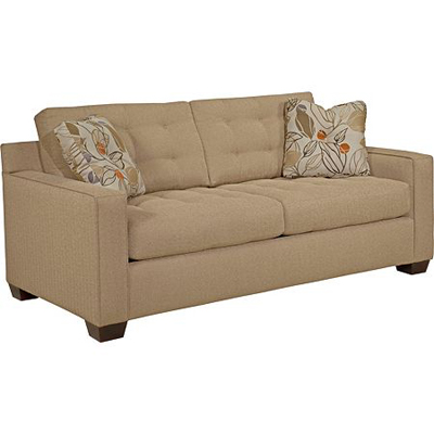Broyhill 6634 2 tribeca apartment sofa discount furniture for Broyhill chaise lounge cushions