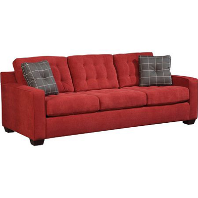 Broyhill 6634 3 tribeca sofa discount furniture at hickory for Broyhill chaise lounge cushions