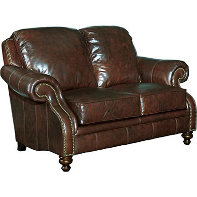 Broyhill L401 1 Newland Leather Loveseat Discount