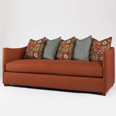 Century Tahoe Skirted Apt Sofa Boxed Seat