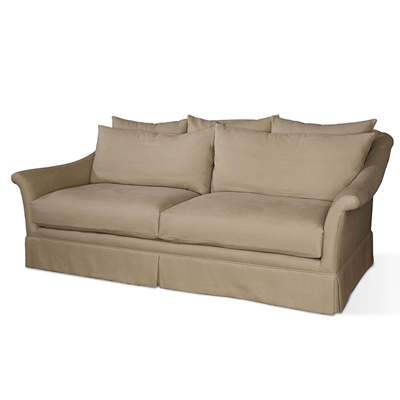 Century Ashland Skirted Sofa