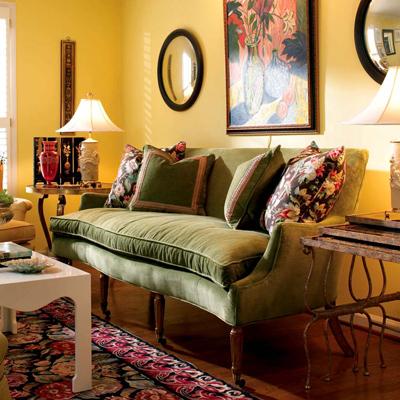 Century Lilac Sofa