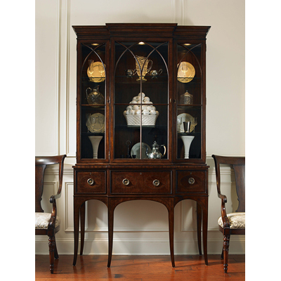 Century Breakfront Display Cabinet