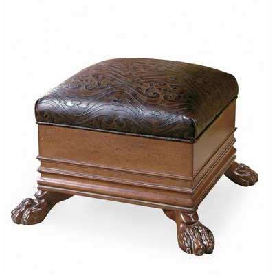 Century Prince Of Wales Ottoman