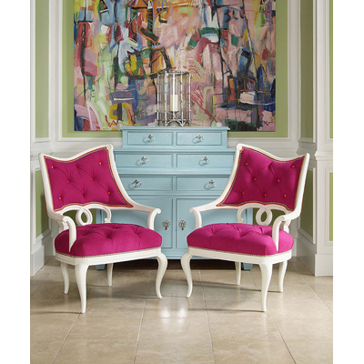 Century 3247l century chair masquerade tufted laf chair for Affordable furniture 6496 redland