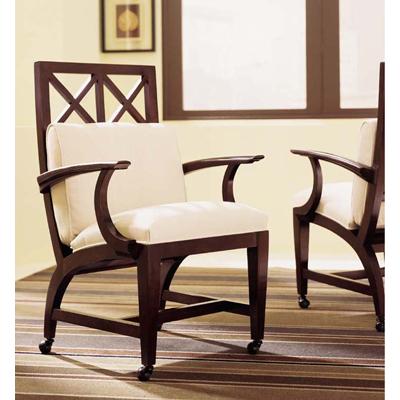 Century Windowpane Game Chair