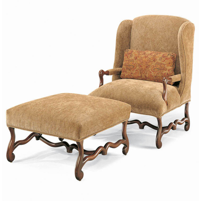 Century Confessional Wing Chair