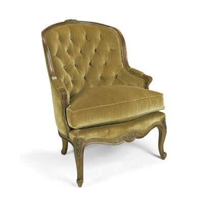 Century Tufted French Chair