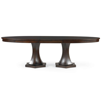 Century Double Pedestal Dining Table