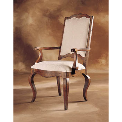 Century Upholstered Ladderback Arm Chair