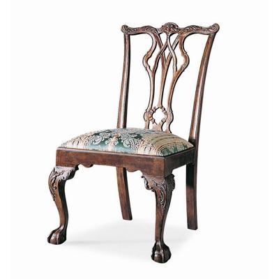 Century Pierced Back Side Chair