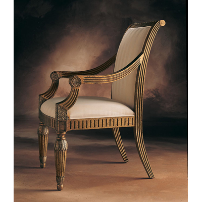 Century Mystique Upholstered Back Arm Chair