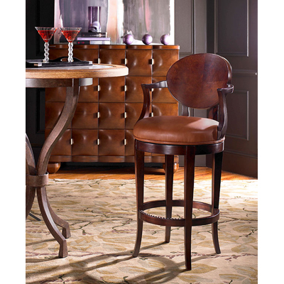 Century Olive Counter Stool