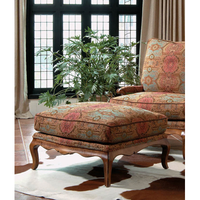 Century Country French Ottoman