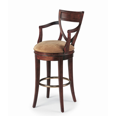 Century Shield Back Counter Stool