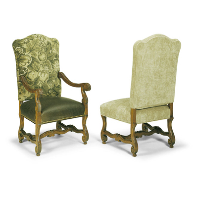 Century Amelia Upholstered Back Arm Chair