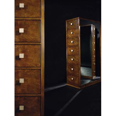 Century Tall Drawer Chest Wiht Mirrored Sides
