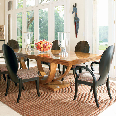 Century 4848 Omni Dining Table Discount Furniture At Hickory Park Enchanting Century Dining Room Tables