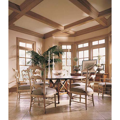 Century Vail 60in Round Dining Table