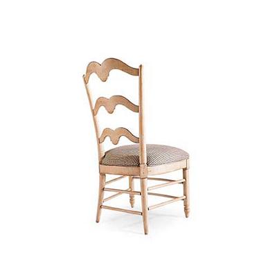 Century Buffalo Branch Ladder Back Side Chair