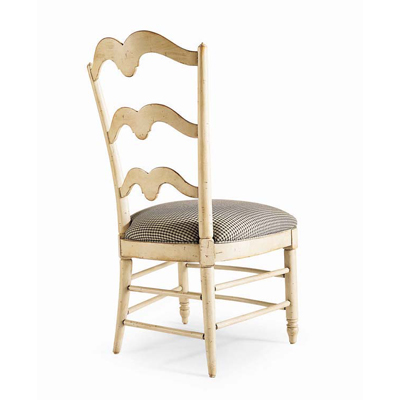 Century Buffalo Branch Ladder Back Side Chair