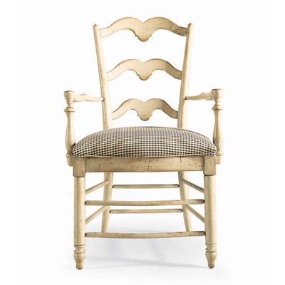 Century Buffalo Branch Ladder Back Arm Chair