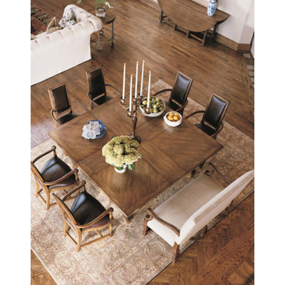 Century Square To Square Dining Table