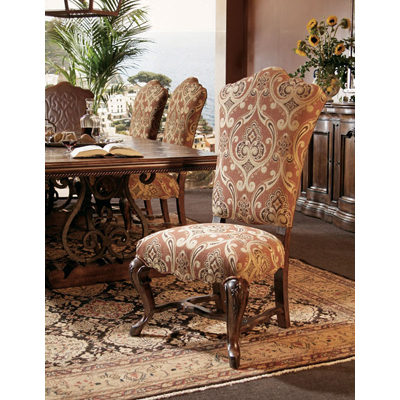 Century Upholstered Back Side Chair