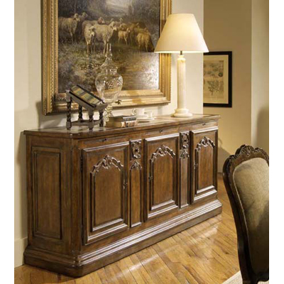 Century Credenza with Marble Top