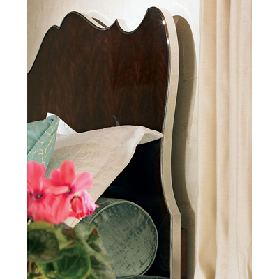 Century Headboard Only with Stainless Steel Trim Queen