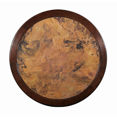 Century Copper Insert Bistro Top