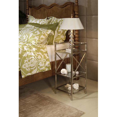 Century Metal Bedside Stand