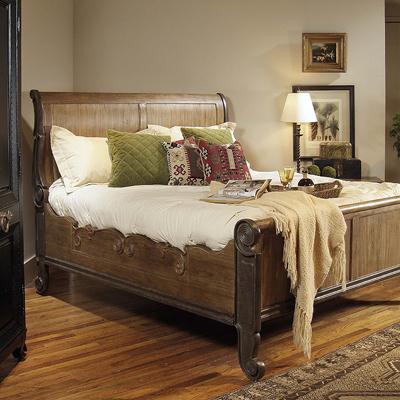Century Sleigh Bed Queen
