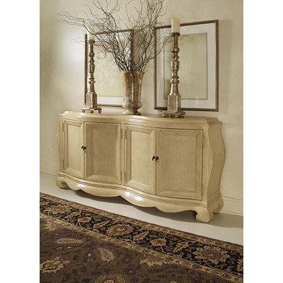 Century Credenza with Marble Inserts