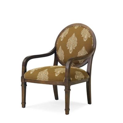 Century Claude Round Back Chair