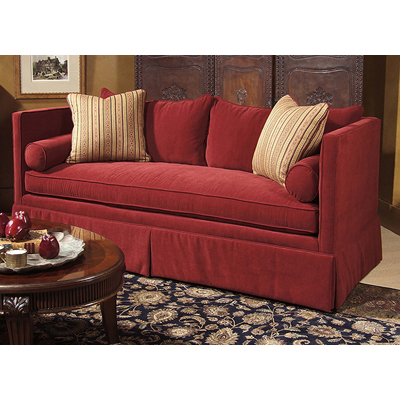 Century Rene Skirted Sofa