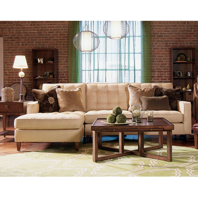 Century Marc Armless Sofa
