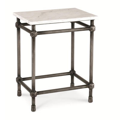 Century 18in Rectangular Side Table