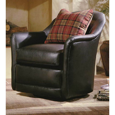 Century Braxton Swivel Glider Chair