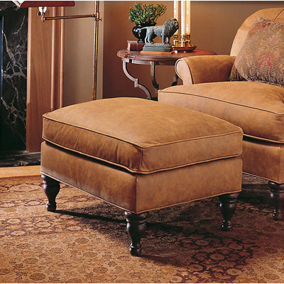 Century Lr 38033 Century Leather Concord Ottoman Discount Furniture At Hickory Park Furniture