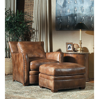 Century LR-38161 Century Leather Camden Ottoman Discount ...